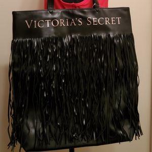 Victoria Secret Black Tote Bag